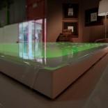 Skimmer-Whirlpool Fusion 230 | Gruppo Treesse | Überlaufbadewanne mit Ghost System