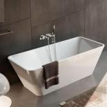Freistehende Badewanne Viva | weiß glänzend