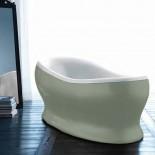 Badewanne Egg | weiß | außen RAL-Farbe glänzend nach Wahl
