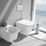 Cow | Wand WC und Wand Bidet | weiß