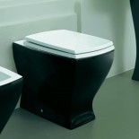 Stand-WC Jazz | bicolor | Soft Close Sitz