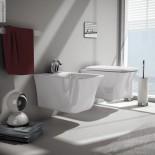 Cow | Wand-Bidet und Wand-WC | weiß