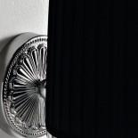Art Ceram | Wandlampe Versailles | schwarz/chrom