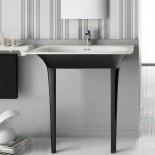 Flat 71 | bicolor | wandstehend mit Keramikbeinen in schwarz