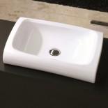 Aufsatzwaschschale Hi-Line | 60 cm | weiß | Hidra Ceramica