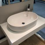 Aufsatz-Waschschale Giò 60 | weiß matt