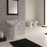 Hidra | Ellade | klassischer Waschtisch mit Standsäule | Ambiente Ellade