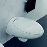 Wand WC Tao | weiß glänzend | mitWC-Sitz