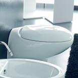 Wand WC Tao | weiß glänzend | mit WC-Sitz