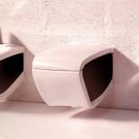 Hi-Line   Wand-WC   weiß / schwarz
