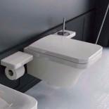 Hidra | Flat | Wand-WC | weiß | Accessoirs Piano