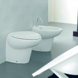 Hidra Ceramica  Stand-WC und Bidet Tao | weiß | Design: Carlo Urbinati
