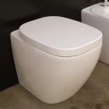 Hidra | Stand-WC Dial | weiß