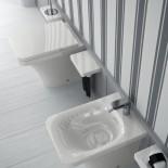 Hidra | Stand-WC & Stand.Bidet | Serie Flat | weiß | WC-Sitz FLZ | Accessoirs Piano