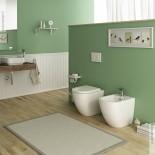 Stand-WC und Bidet Serie Faster | Ambiente