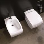 Hidra | Stand-Bidet Hi-Line (mit WC) | weiß