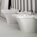 Stand Bidet | Flat | weiß | FL14 | neben passendem Stand WC (separat bestellbar)