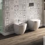 Art Ceram | Standbidet und Stand-WC Faster | weiß