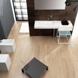 Waschtisch OZ | 95cm | Rechtsversion DX | weiß | Ambiente OZ
