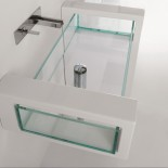 Modulwaschtisch Glass | Design: Massimiliano Abati