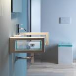 Wandhängender Waschtisch Glass | 80cm