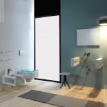 Wandhängender Waschtisch Glass | 80cm | Ambiente Serie Glass