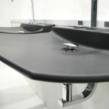 GSG | Waschtisch Fly | schwarz matt | 75cm