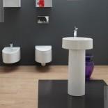 GSG | Boing 45 | freistehende Installation mit Säule
