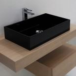 Waschtischschale Box | 60 x 35,5 | schwarz