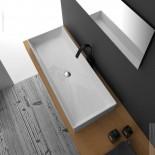 GSG | Waschtisch Zenith FS 100 | weiß glänzend