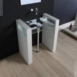 Waschtisch Glass | 80cm | wandstehend