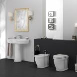 GSG | Time | klassischer Waschtisch mit Standsäule | 95cm | Ambiente