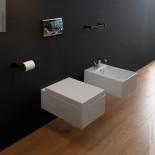 Wandbidet OZ (mit WC) | 34cm | weiß glänzend