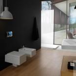 GSG | Wand WC und Bidet | Serie Oz | weiß | Soft Close WC-Sitz