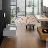 GSG | Wand WC und Bidet |  Ambiente Serie Oz | weiß | Soft Close WC-Sitz