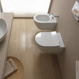 GSG | Wand WC und Bidet | Serie Like | Soft Close WC-Sitz Slim Quick Release