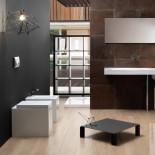 GSG | Stand WC | Ambiente Serie OZ | weiß | mit WC-Sitz