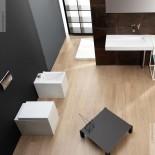 GSG | Stand WC + Bidet | Ambiente Serie OZ | weiß | Soft Close WC-Sitz