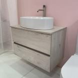 GSG | Mole | Waschtischunterschrank mit 2 Auszügen | 80cm |