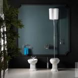 AXA | Ambiente Contea | Standbidet, Stand-WC mit hohem Spülkasten