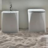 Axaone | Standbidet und WC Serie DP | weiß