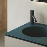 Axaone Cubo Waschtisch/Unterschrank-Kombination | 53x48 | petrolio matt | grigio matt