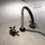 Dreilocharmatur Icona Classic | Oberfläche: NIckel PVD