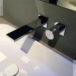 Unterputz-Einhebelmischer Milano | mit Einzelrosetten | chrom | traditionelle Kartusche