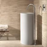 Fantini | Standauslauf Boden für Waschbecken | Ambiente Serie Cafe