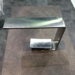 Treemme Einhebelmischer 5mm | Edelstahl gebürstet | Präsentation Cersaie