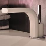 Waschtischarmatur Pao Joy | Einhebelmischer | weiß matt / chrom
