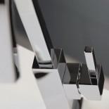 Treemme | Waschtischmischer X-Change Q | chrom | quadratischer Querschnitt | 130° Auslauf