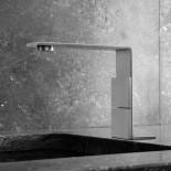 Zweigriffmischer 5mm | Edelstahl gebürstet