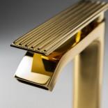 Treemme | Einhebelmischer Ios hoch | gold glänzend